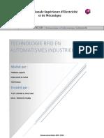 Rapport Technologie RFID dans L'automatisme industrielle