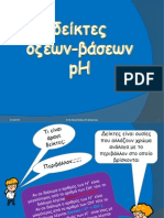 Δείκτες οξέων-βάσεων, pH