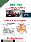 AUDITING ANTIBIOGRAMS by Dr.T.V.RaoMD