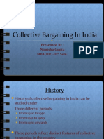 Collective Bargaining in India