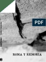 """""""Roma y Remoria"""" de Iván Gómez"""