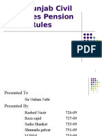 Presentation Punjab Civil Rules