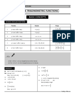 1. Inverse Trigonometric Functions 1 - 30