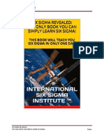 Six Sigma Revealed From International Six Sigma Institute