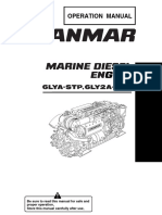 Yanmar Operation Manual Marine Diesel Engine 6lya-Stp,6ly2a-Stp
