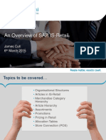 SAP is-Retail Overview v3.0