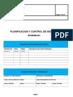 ETI-PRDIR-001 Planificación y Control de La Gestión EDITABLE