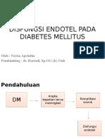 Disfungsi Endotel Pada Diabetes Mellitus