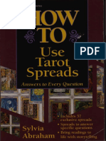 Abraham, Sylvia - How to Use Tarot Spreads