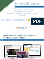 Plataforma De Ventas Online En Colombia - Vendesfacil.com 6044747