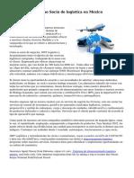 Conoce a tu  proximo Socio de logistica en Mexico