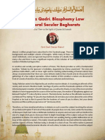 Mumtaz Qadri, blasphemy laws & liberal seculars of Pakistan (Eng)