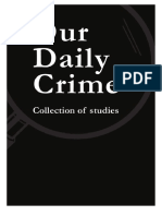 Rhythm of Crime in a Medieval City Examp