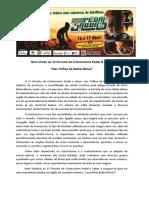 Informações e Inscrições 1º Circuito de Cicloturismo Pedal e Sabor