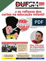 Jornal SEDUFSM Março de 2016