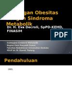 19. Kuliah Hubungan Obesitas Dengan Sindroma