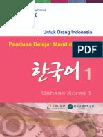 Panduan Belajar Mandiri-Bahasa Korea 1