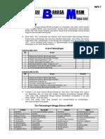 INFO7  -FAKTA TENTANG MINGGU BAHASA MRSM