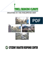 Disaster Statistical Report 2007