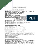INFORME TECNICO San Antonio - Estado Actual (La Paz) Hosp. Zona Norte