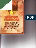 Din Istoria Isihasmului in Ortodoxia Romana(Dumitru Staniloae