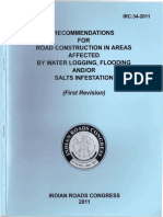 IRC 34-2011 RECOMMENDATIONS FOR ROAD CONSTRUCTION IN AREAS AFFECTED BY WATER LOGGING  FLOODING AND SALTS INFESTATION.pdf