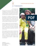 VillageCare 2009 Community Benefit Report