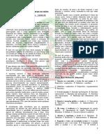 Exame de Admissão de Português