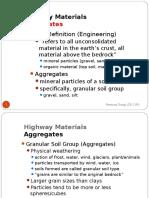 Pavement Materials Aggregates Part 1