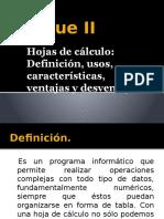 Bloque II Informatica