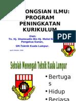 PKA- PROGRAM PENINGKATAN KURIKULUM  2006 SMT KUALA LUMPUR