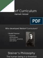 waldorf curriculum slideshow