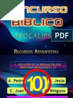 Concurso Bíblico Apocalipsis