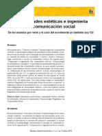 Comunidades Estéticas e Ingeniería