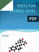 Tests for Estriol Level