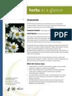 Herbs at a Glance Chamomile 06-13-2012 0