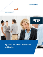 New orders on apostille for official documents