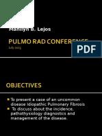 Pulmo Rad Conference Final