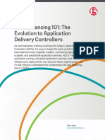 Load Balancing 101 the Evolution to Application Delivery Controllers