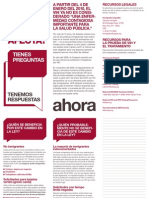 HIV Travel and Immigration Ban FAQ in Spanish (Screen Version)
