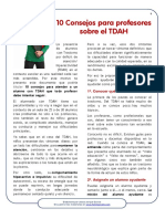 10 Consejos Sobre TDAH Para Profesores