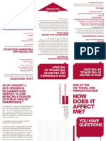 HIV Travel and Immigration Ban FAQ (Print Version)