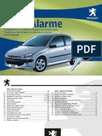 Manual Alarme Positron Peugeot