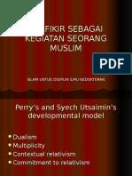 Berfikir Sebagai Kegiatan Seorang Muslim (Indo)
