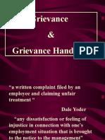 Greivance Handling-HRM