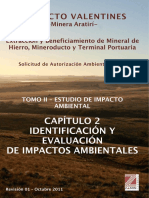 Tomo II Capitulo 2 Identificacion y Evaluacion de Impactos Ambientales
