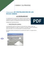 Cristalizacion proceso