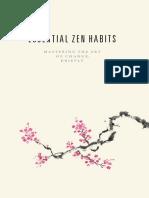 Essential Zen Habits Sample