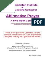 Affirmative Prayer