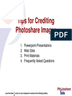 How to Credit Photos